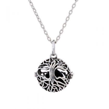 Tree of Life Aromatherapy Necklace