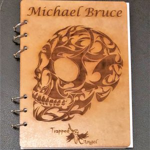 Customized Skull Notebook A5